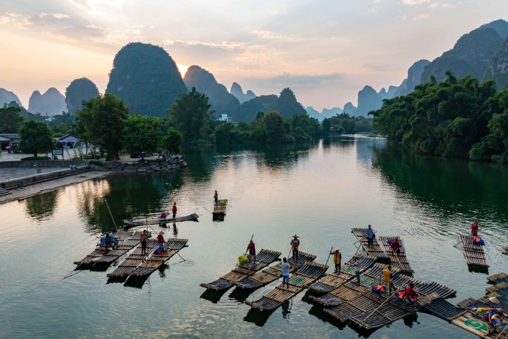 Voyage à Yangshuo Chine